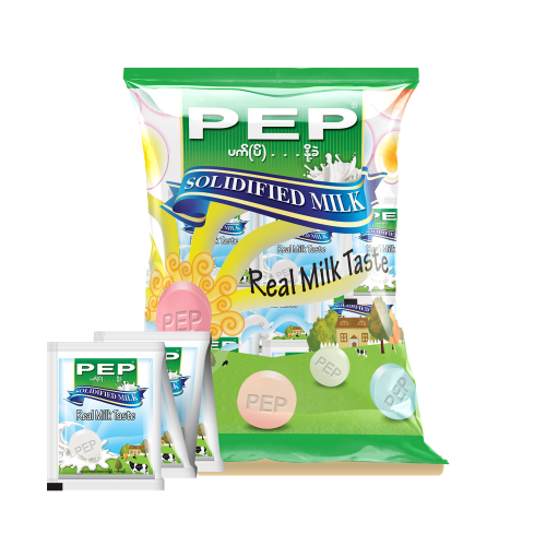 PEP Solidified Milk Tablet (8g)